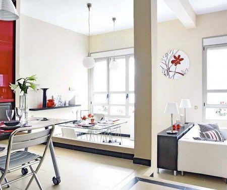 Jurnal de design interior - Amenajări interioare, decorațiuni și inspirație pentru casa ta: Alb, roșu și negru