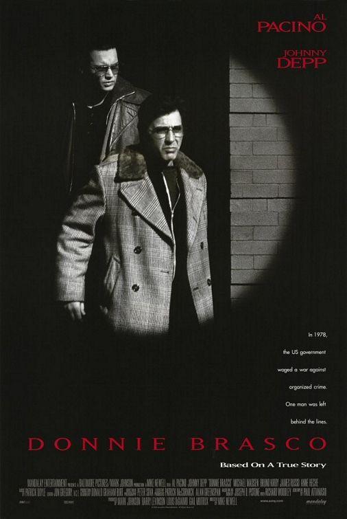 Donnie Brasco (1997) [Blu-ray] Johnny Depp as Donnie Brasco / Joseph D. 'Joe' Pistone