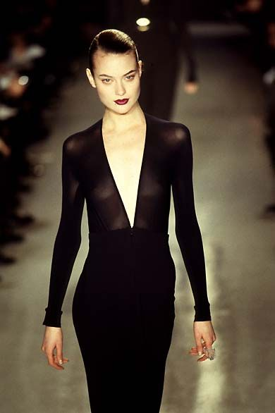 Donna Karan - Fall / Winter 1996 | Shalom Harlow