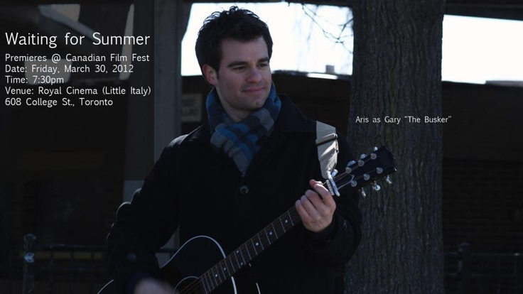 "Aris as Gary ""The Busker"" in Waiting for Summer movie"