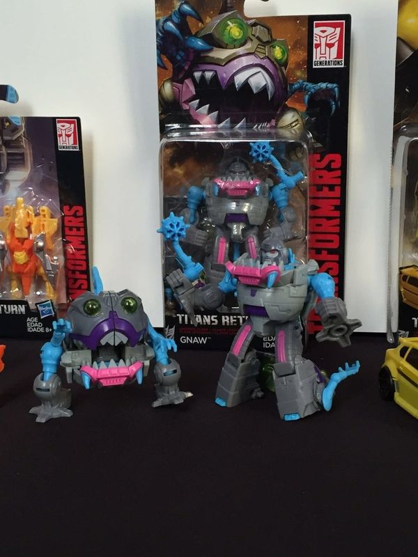 #SDCC2016 - Photos From Hasbro Breakfast Event - Legends Bumblebee & Sharkticon Gnaw, New Titan Masters, Liokaiser, More!