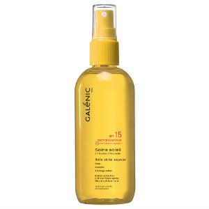 Galenic Soins Soleil Huile Seche Corps SPF15 150ml