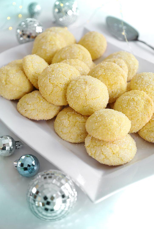 Lemon Sparkler Cookies Recipe // @SprinkleBakes