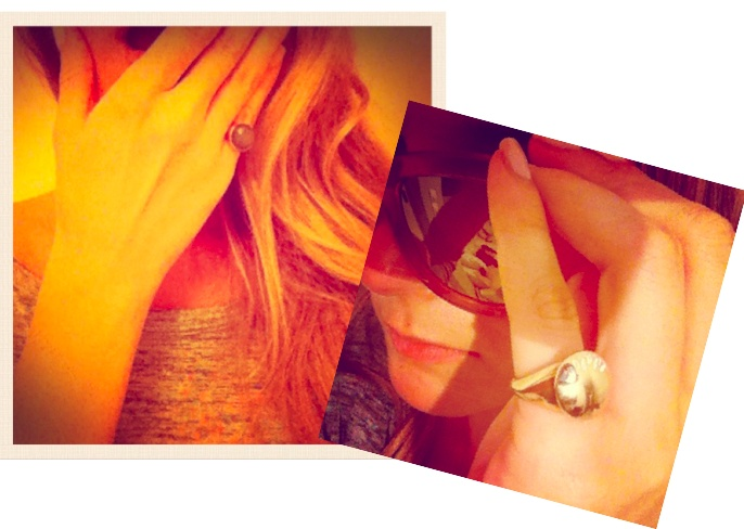 Chevalier Collection  ring in gold plated sterling silver #lilalo #chevalier