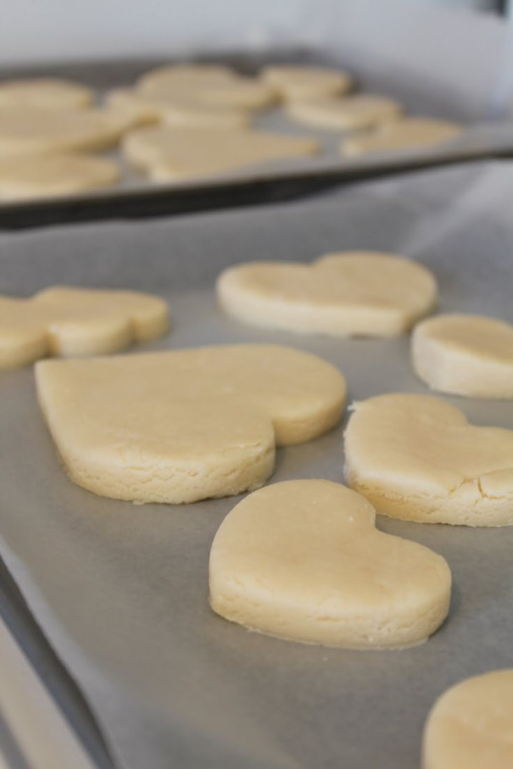 Okay people, these sugar cookies are AMAZING! They are soft, and tasty and PERFECT! This recipe was handed down to my sister St...