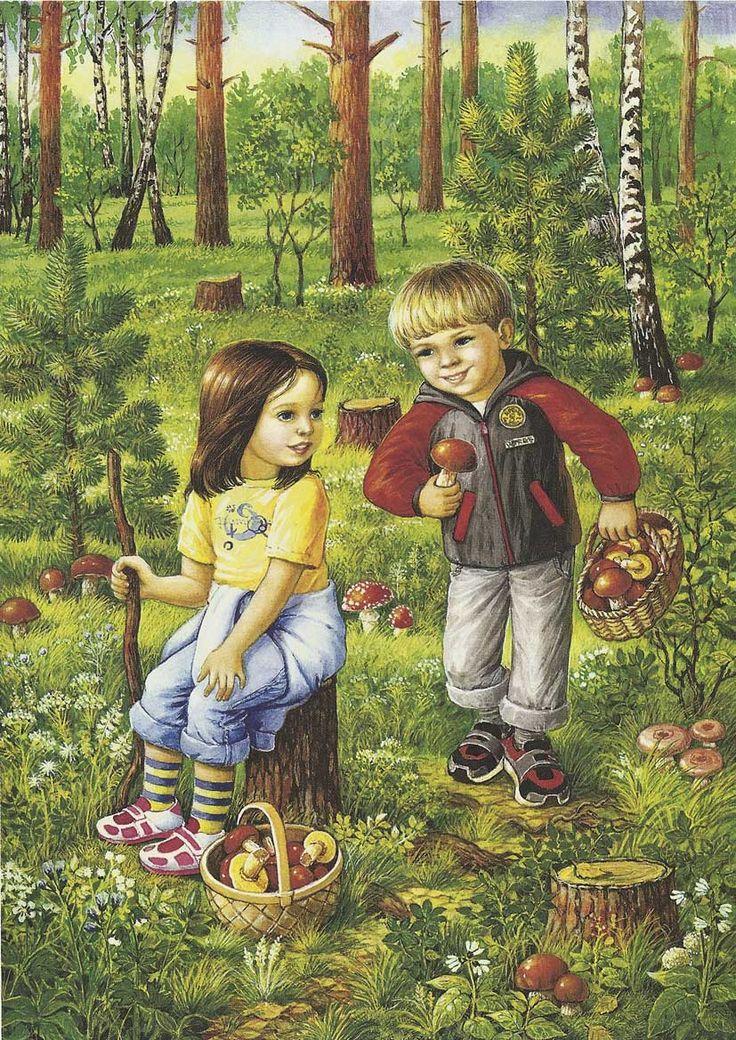 Картинки осеннего леса высокое разрешение позволит