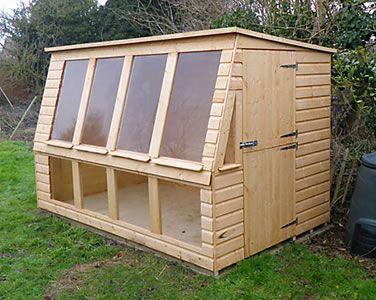 7 best shed ideas images on pinterest conservatory for Potting sheds for sale