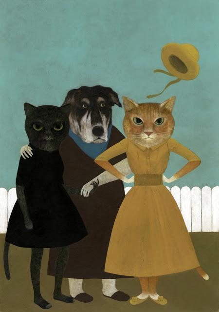 simone rea illustratore: Foto di famiglia ~ If mama ain't happy, ain't nobody happy! lol