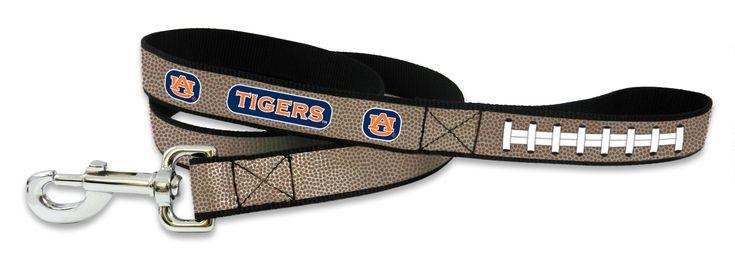 Auburn Tigers Reflective Football Leash - S