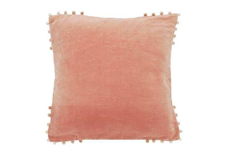 Velvet cushion blush £20.29