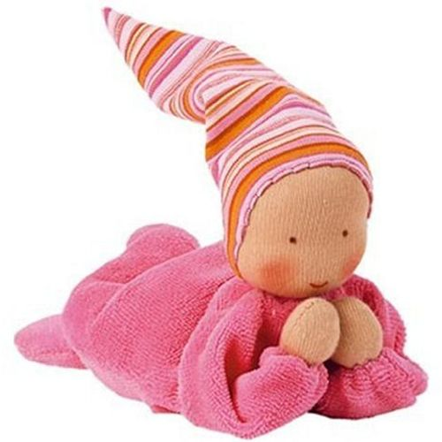 Nicki Baby Waldorf Doll - Pink