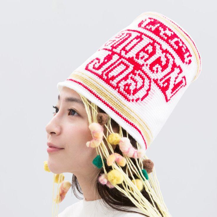 カップヌードルの帽子wwwwかわいいwww