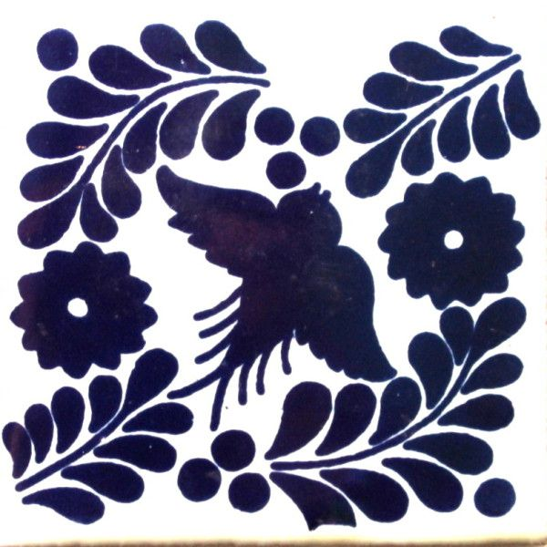 Mexican Talavera Tile – HAD 002