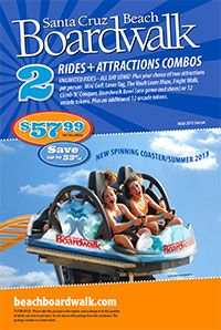 Boardwalk Tickets and Season Pass information. Pricing and details for a day of fun here at the beach!