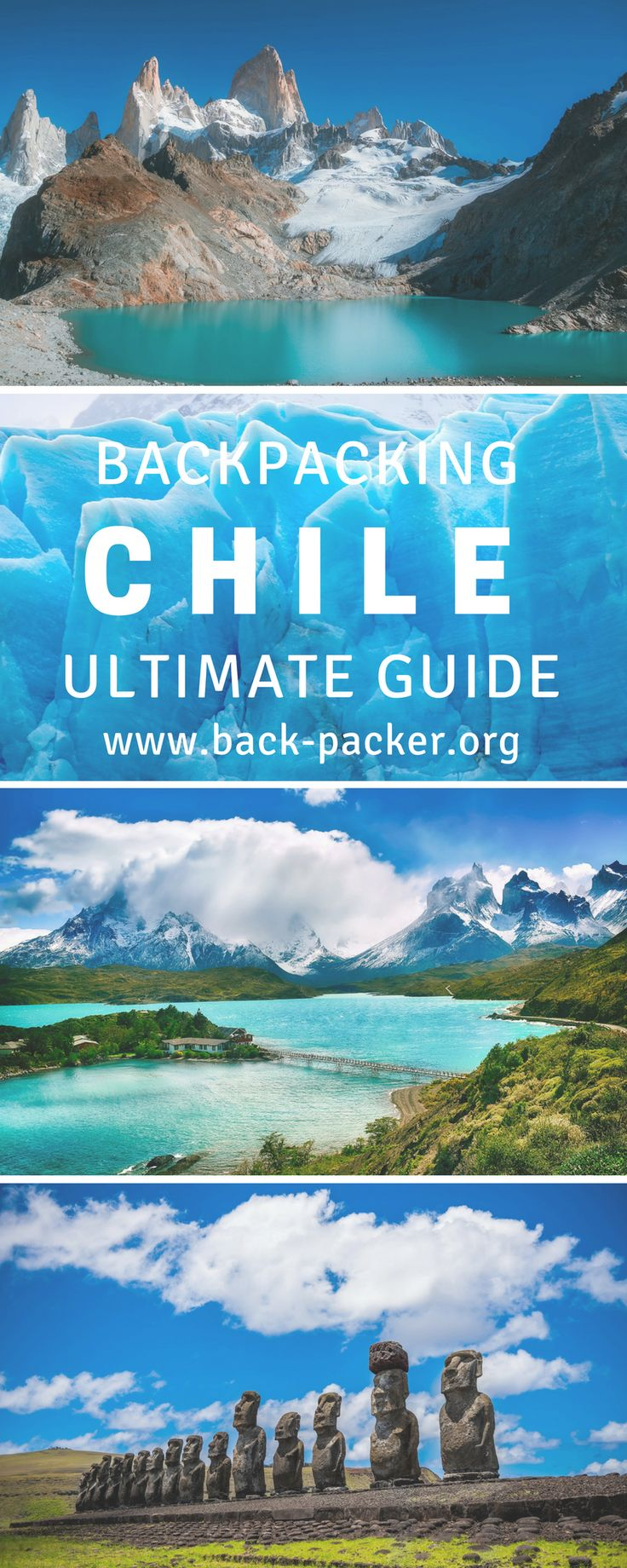 Planning a trip to South America? This Chile travel ebook contains everything you need to know before visiting the country and includes an itinerary planner, packing lists, destination guide and national parks overview + more. Adventure travel in South America. | Back-Packer.org#Chile#Travel