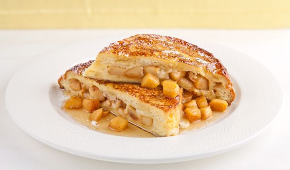 Apple and Cheddar French Toast