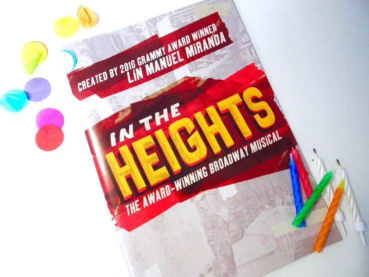 In the Heights – 1st Birthday & Interview with Gabriela Garcia | A View from the Balcony
