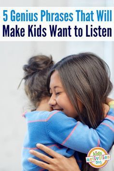 LOVE these listening phrases to help kids listen! via @hollyhomer