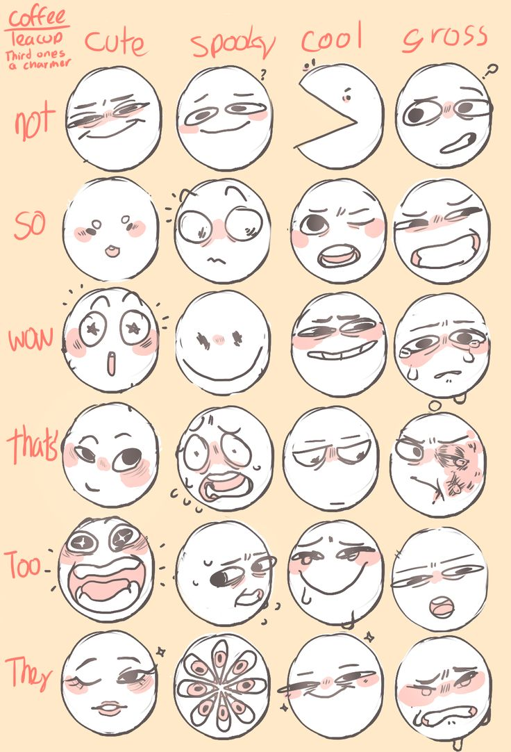 oh boy a 3rd one as requested by an anon. decided to use words not numbers this time hey I really want to see what you all are doing with these, so could you tag the stuff you do with #ctcfacething id love to see it ~ 1st one ~ 2nd one ~