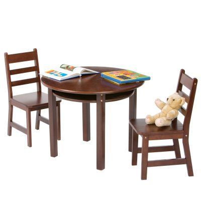 Lovely Lipper Childrens Round Table And Chair Set   524W | Products, Table And  Chairs And Round Tables Good Ideas