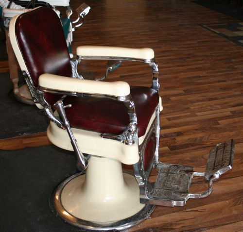80 best vintage barber chairs images on pinterest | barber chair