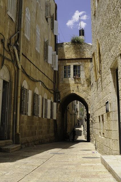 Jerusalem Old City street, Israel