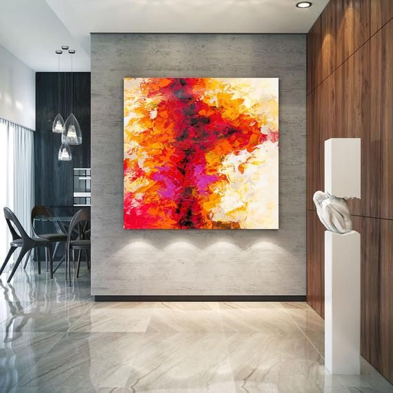 Large Abstract Painting Original Canvas Art Contemporary Wall Art
