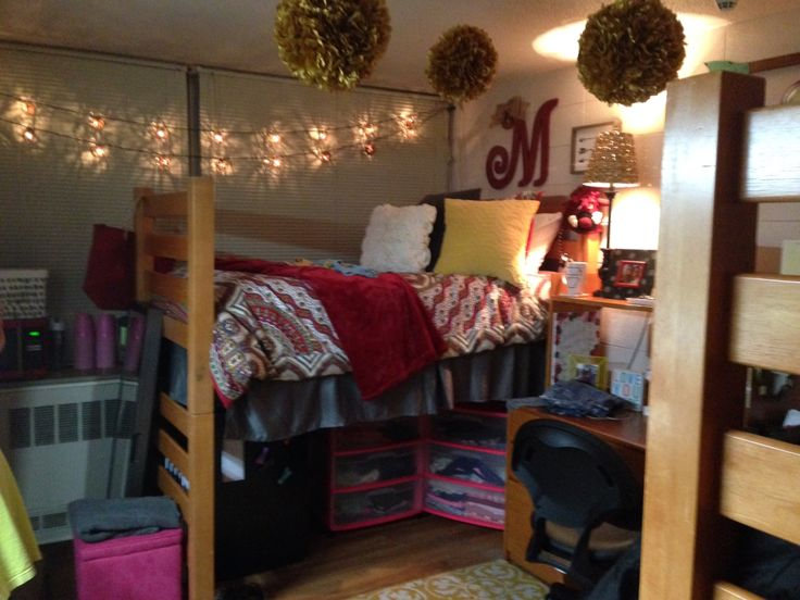College Dorm Room Ideas Freshman Year Decor