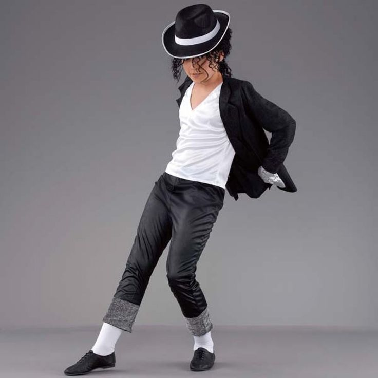 Black Michael Jackson Beat It Costume dazzle-dancewear.co.uk