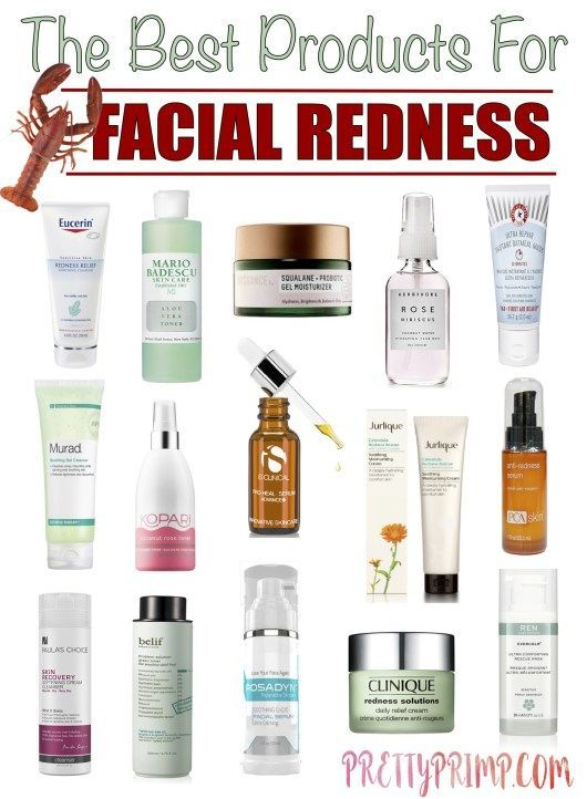 The Best Products for Facial Redness That Will Soothe and Calm Your Skin – Prett…