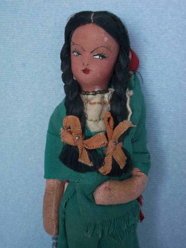 Are mistaken. vintage mexican doll