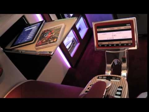 """BRABUS """"iBusiness 3D""""- BRABUS transforms the new Mercedes Viano into an exclusive 3D multimedia lounge on wheels."""