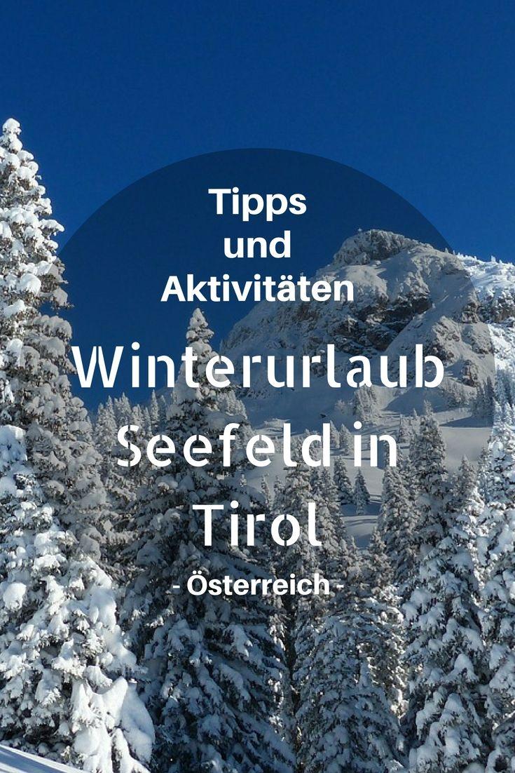 Wir haben unseren Winterurlaub in Seefeld in Tirol verbracht und hier auch Silvester gefeiert. Seefeld liegt knapp hinter der deutschen Grenze auf einem Hochplateau, 1300 Metern über dem Meeresspiegel und nicht weit von Innsbruck entfernt. Winterurlaub - Winterwendern - Winterurlaub ohne Schnee