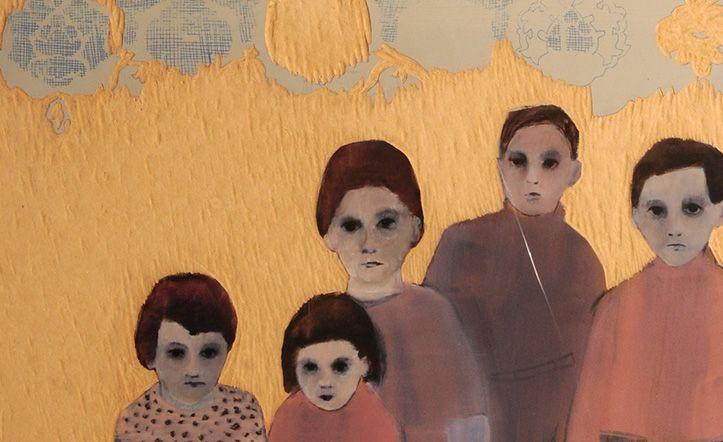 """Andrea Lería nace en Barcelona. Su familia se radica en Chile. Estudia en Inglaterra 6 años y un postgrado en Chealsea School of Art and Design. Realiza exposiciones en Londres y una residencia en Hungría. Nuevamente en Chile y durante 6 años desarrolla interiorimo. 2013 - Santiago / Chile -realiza su 1era muestra individual de pintura. """"Recuperar la memoria"""" que no ha sido perdida en la amnesia. #7artescl #chile #art #design #painting, Email: andrealeria@gmail.com, http://www.7artes.cl"""