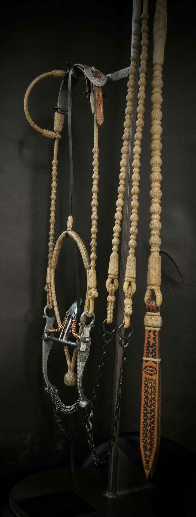 Western Show Bridle Hanger Horse
