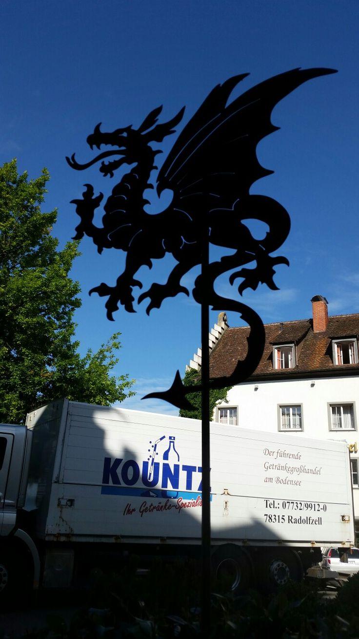 Drache in Meersburg