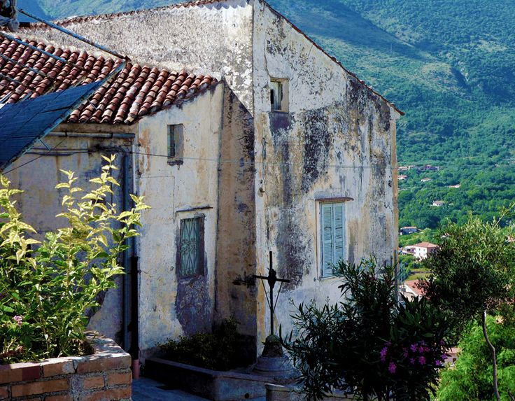 Old house in Maratea, Italy