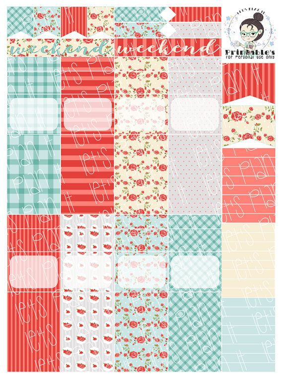 Bills Due Free Printable Planner Stickers - Style 3 with ...