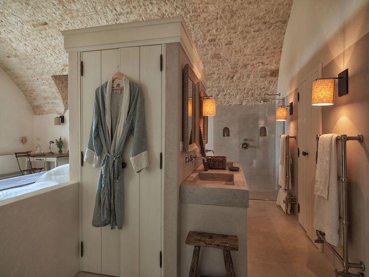 bagno piccolissimo legno bianco perlinato - Cerca con Google