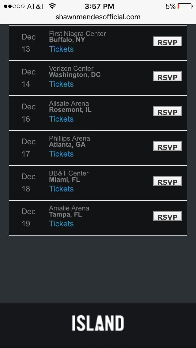 Tour dates #2