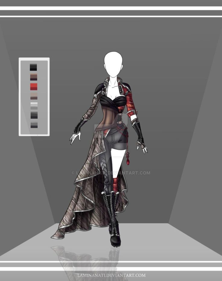 Custom Fashion for . (This outfit is to be used by the commissioner only.) Design (c) LamLArts Art (c) Karijn-s-Basement