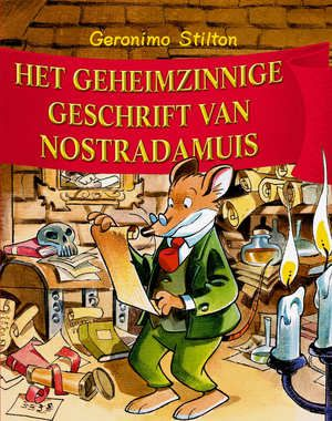 Op de Ratfurter Boekenbeurs krijgt Geronimo een hel oud geschrift onder ogen van de grote meester en astroloog Nostradamuis, de ziener van wat de toekomst verbergt. Geronimo's uitgeversneus ruikt hier onmiddellijk een bestseller. Hij probeert het manuscript voor de neus van zijn grootste concurrent en aartsvijandin, Ratja Ratmuis weg te kapen. Maar dan is het script verdwenen ...