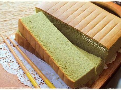 Resep Ogura Cake Green Tea