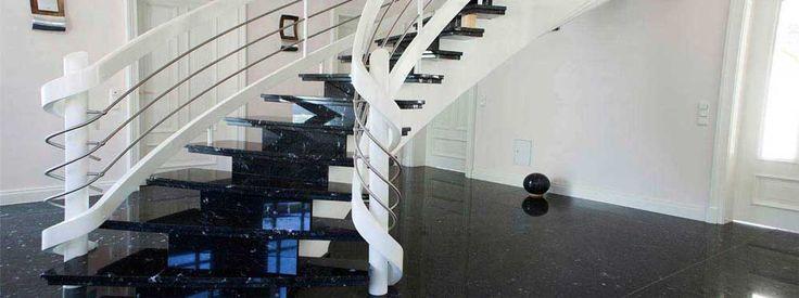 Treppen aus Granit Treppenstufen Granittreppe