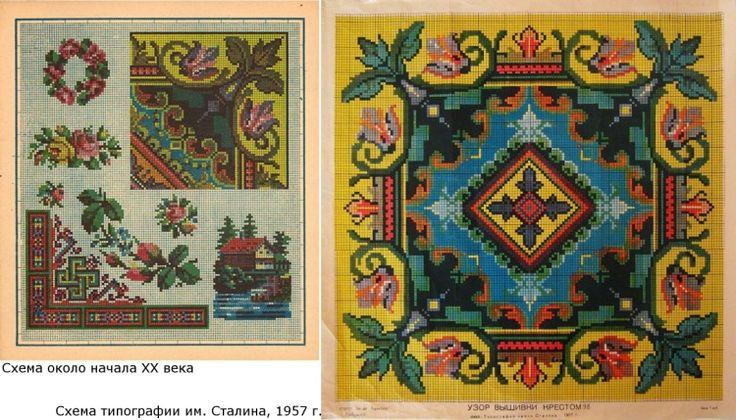 (1) Gallery.ru / Фото #5 - Родословная советских схем и вышивок - Kalla
