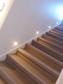 Deilig med teppe-trapp!