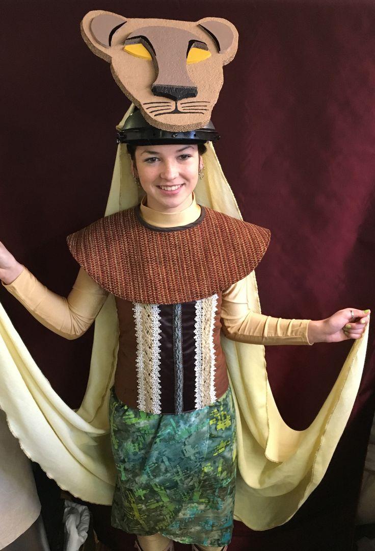 Lioness costume for Lion King Jr.