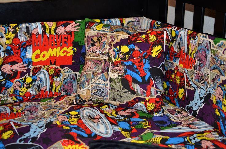 Superhero Nursery Crib Set Home Bedding Sets Custom