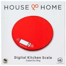 House & Home Digital Kitchen Scale