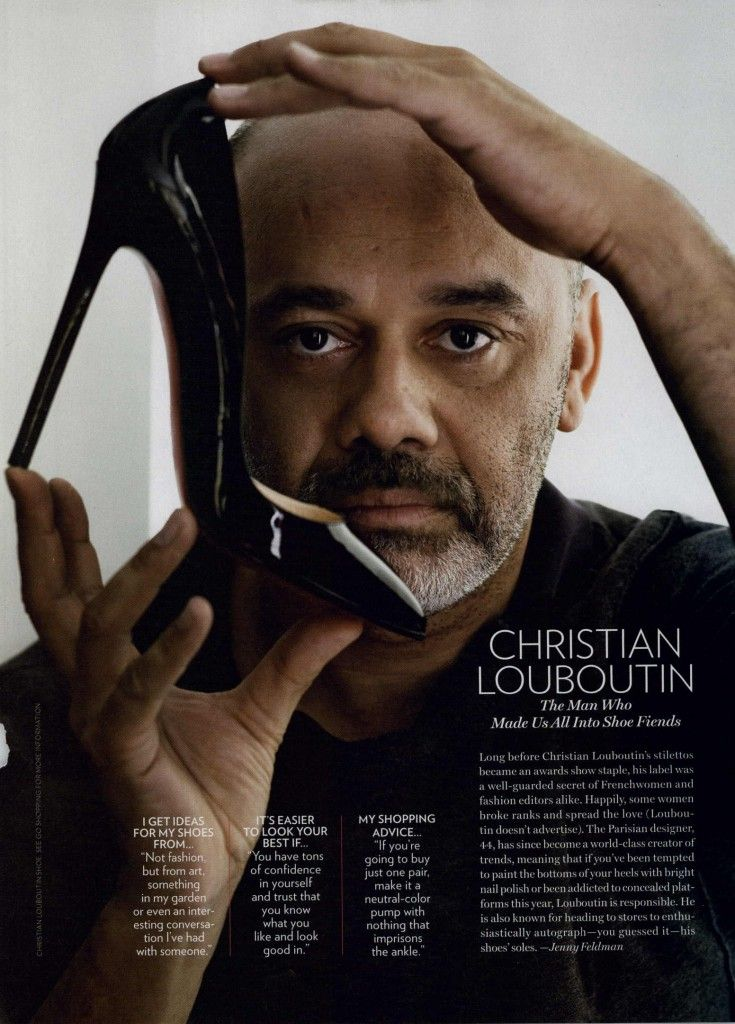 Mini Monuments Make Christian Louboutin Person Of The Year